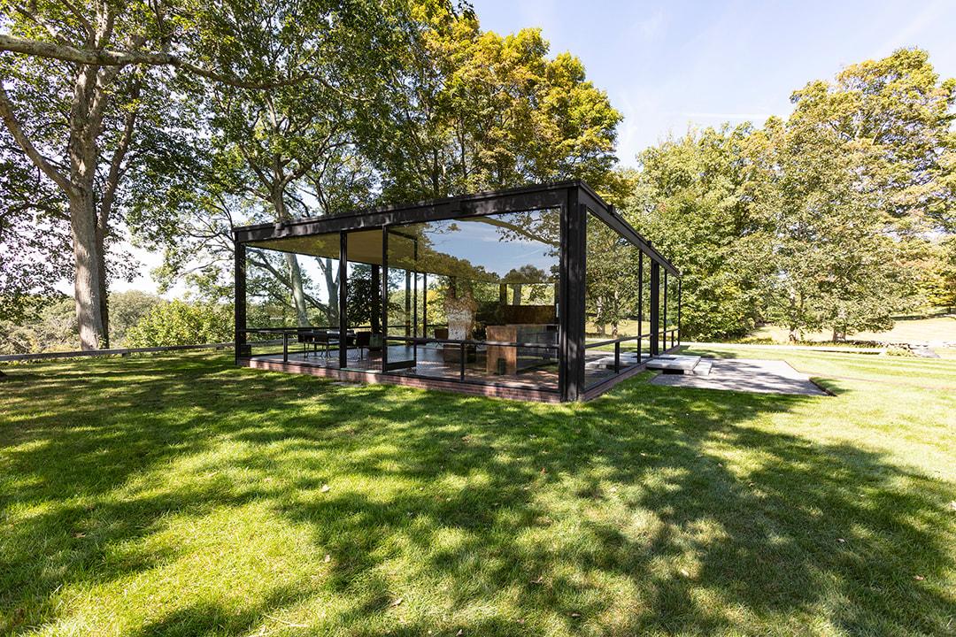 Glass House Philip Johnson Krista Jahnke Photography Design